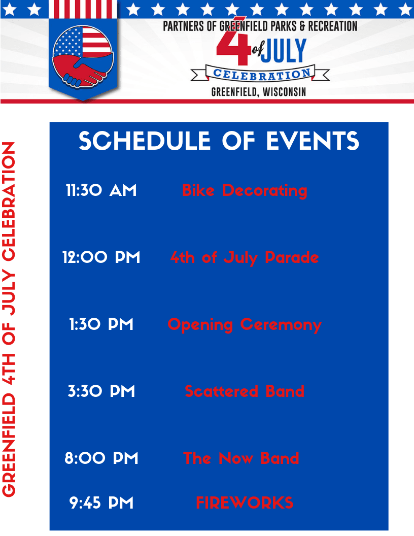 gREENFIELD 4TH OF JULY CELEBRATION