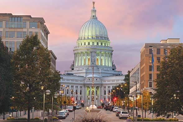 Picture of Wisconsin State Capitol