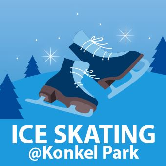 Ice Skating at Konkel Park