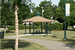 The Creekwood Park Gazebo.